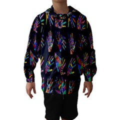 Art With Your Hand Hooded Wind Breaker (Kids)