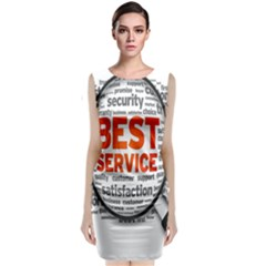 Article Classic Sleeveless Midi Dress