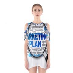 Article Market Plan Cutout Shoulder Dress