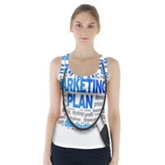 Article Market Plan Racer Back Sports Top