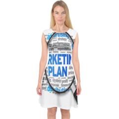 Article Market Plan Capsleeve Midi Dress