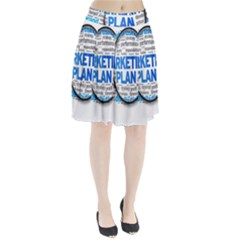 Article Market Plan Pleated Skirt