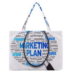Article Market Plan Medium Zipper Tote Bag