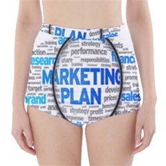 Article Market Plan High-Waisted Bikini Bottoms