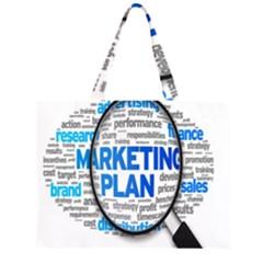 Article Market Plan Large Tote Bag