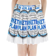 Article Market Plan Pleated Mini Skirt