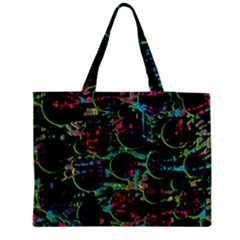 Graffiti style design Medium Zipper Tote Bag