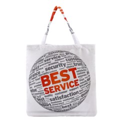 Best Service Grocery Tote Bag