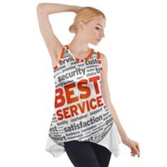 Best Service Side Drop Tank Tunic