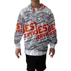 Best Service Hooded Wind Breaker (Kids)