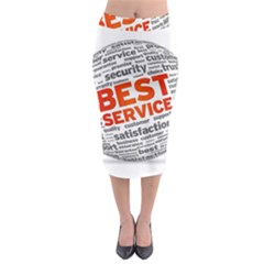 Best Service Midi Pencil Skirt