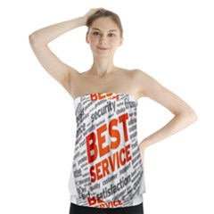 Best Service Strapless Top