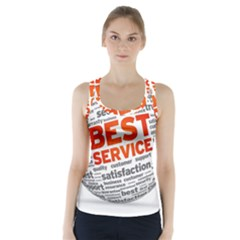 Best Service Racer Back Sports Top