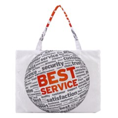 Best Service Medium Tote Bag