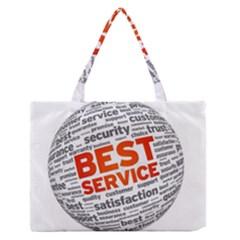 Best Service Medium Zipper Tote Bag