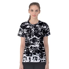 Black and white confusion Women s Cotton Tee