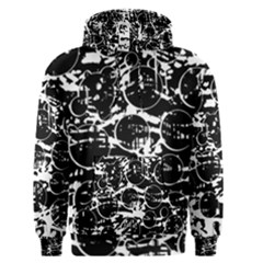Black and white confusion Men s Pullover Hoodie