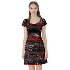 Bed eyesight Short Sleeve Skater Dress