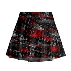 Bed eyesight Mini Flare Skirt