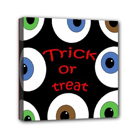 Trick Or Treat  Mini Canvas 6  X 6