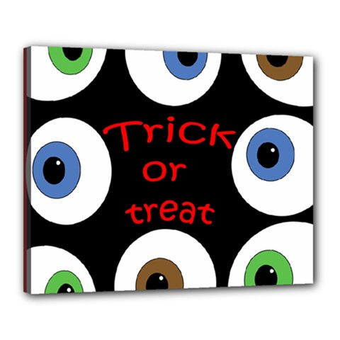 Trick or treat  Canvas 20  x 16