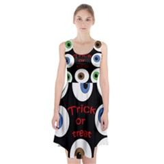 Trick or treat  Racerback Midi Dress