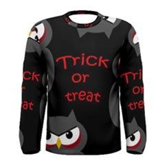 Trick or treat - owls Men s Long Sleeve Tee