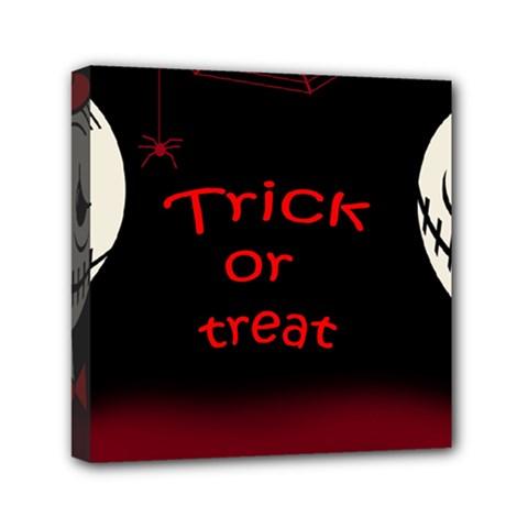 Trick or treat 2 Mini Canvas 6  x 6