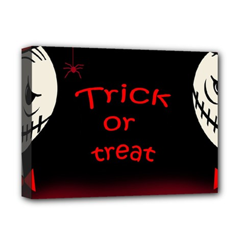Trick or treat 2 Deluxe Canvas 16  x 12