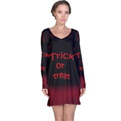 Trick or treat 2 Long Sleeve Nightdress