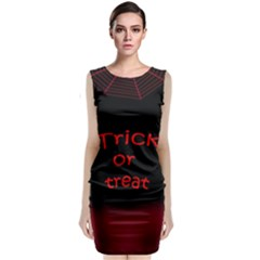 Trick or treat 2 Classic Sleeveless Midi Dress