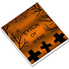 Trick or treat - cemetery  Small Memo Pads