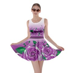 Wrapped In Flowers Skater Dress