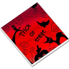 Trick or treat - Halloween landscape Small Memo Pads