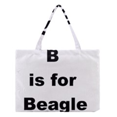 B Is For Beagle Medium Tote Bag