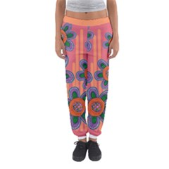 Colorful Floral Dream Women s Jogger Sweatpants