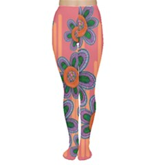 Colorful Floral Dream Tights