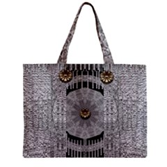 Gold And Silver Is The Way Zipper Mini Tote Bag