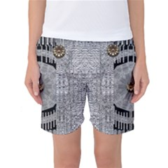 Gold And Silver Is The Way Women s Basketball Shorts