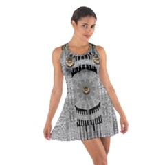 Gold And Silver Is The Way Cotton Racerback Dress