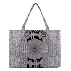 Gold And Silver Is The Way Medium Tote Bag