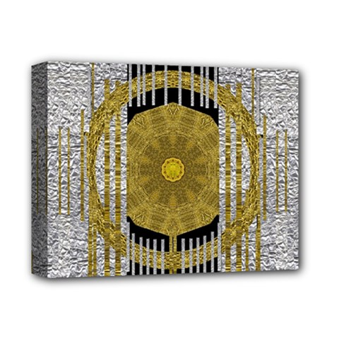 Silver And Gold Is The Way To Luck Deluxe Canvas 14  X 11