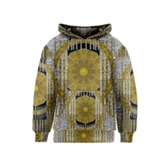 Silver And Gold Is The Way To Luck Kids  Pullover Hoodie