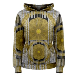 Silver And Gold Is The Way To Luck Women s Pullover Hoodie