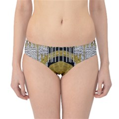 Silver And Gold Is The Way To Luck Hipster Bikini Bottoms