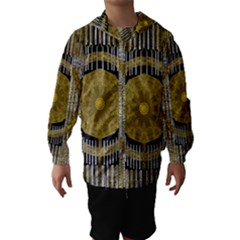 Silver And Gold Is The Way To Luck Hooded Wind Breaker (kids)