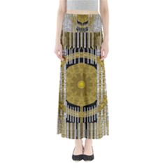 Silver And Gold Is The Way To Luck Maxi Skirts