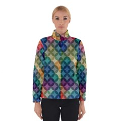 Abstract Colorful Geometric Pattern Winterwear