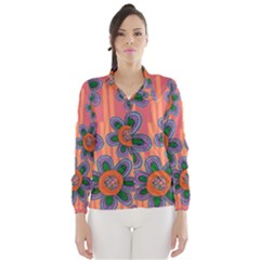 Colorful Floral Dream Wind Breaker (women)