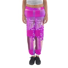 Abstract Forest Women s Jogger Sweatpants